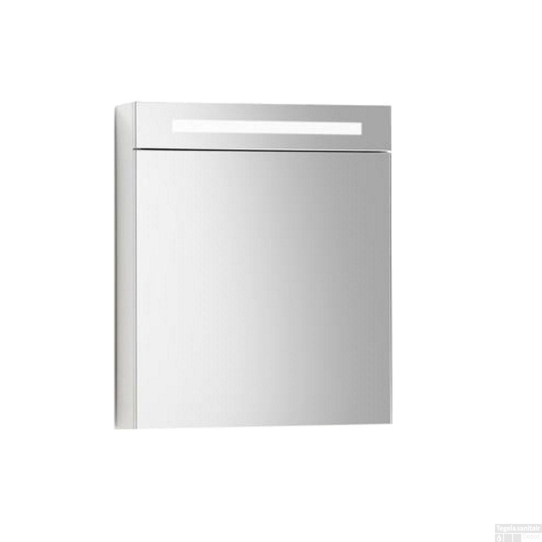 Spiegelkast Sanilux Deluxe 58x70x16cm met TL verlichting en ...