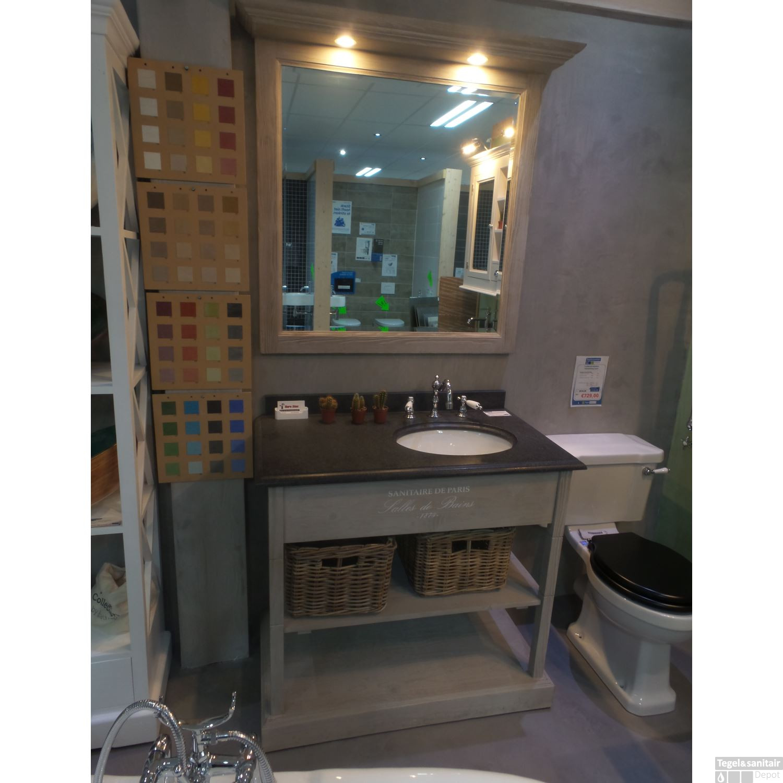 Badkamermeubel Set De Paris 95 cm Taupe Showroom model OP=OP!