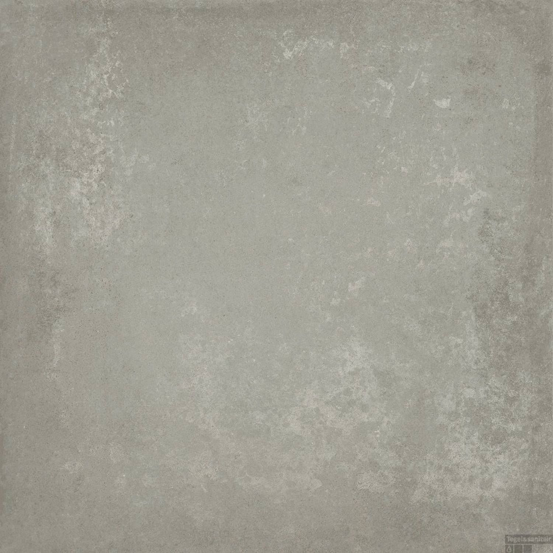 Vloertegels 80x80 Grijs.Vloertegel Graftonia Grey 80x80 Cm Betonlook Grijs Doosinhoud 1 28 M2
