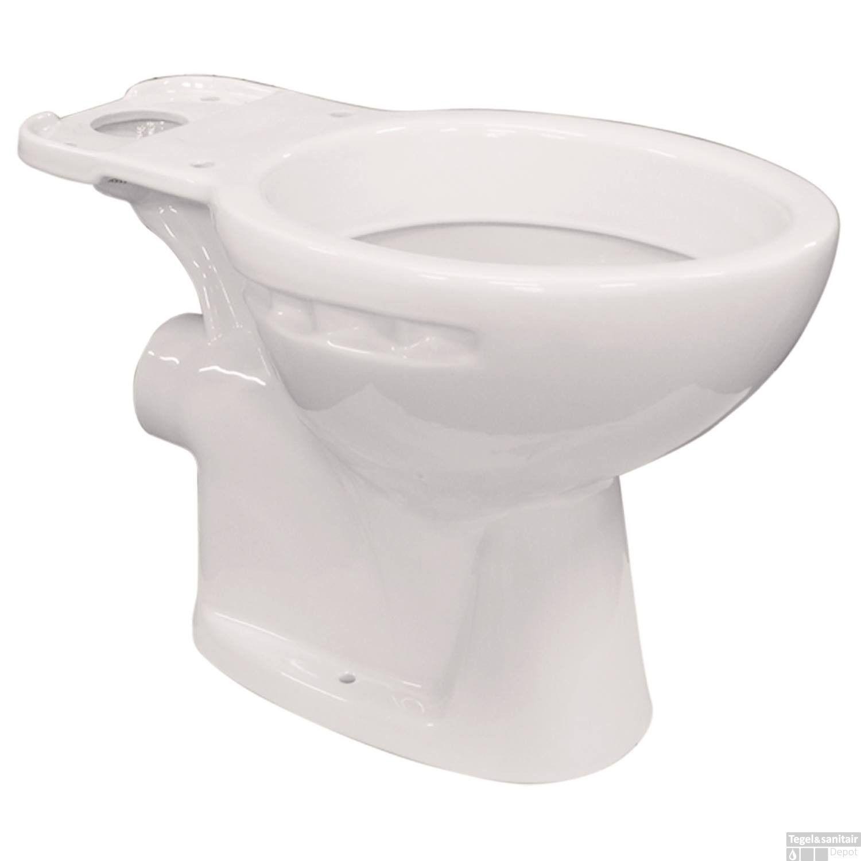 Toilet Ao Pk.Vrijstaande Toiletpot Van Marcke Isifix Muuraansluiting H Pk 18 Cm Wit