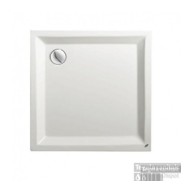 Douchebak Kwadrant Acryl wit 80x80cm vierkant 4.5cm hoog