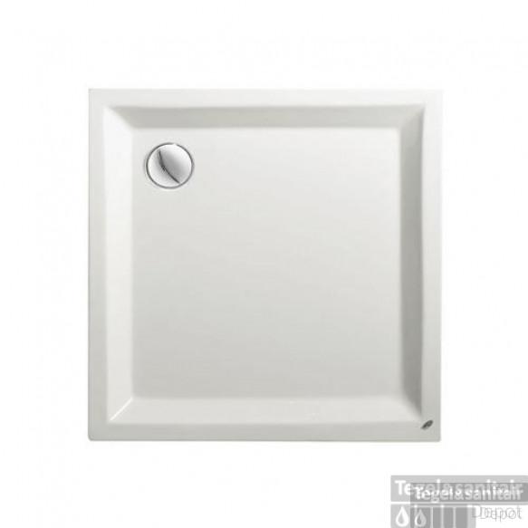 Douchebak Kwadrant Acryl wit 90x90cm vierkant 4.5 cm hoog