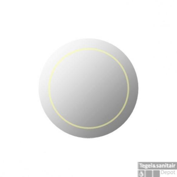 Basic spiegel met LED verlichting Ø60cm
