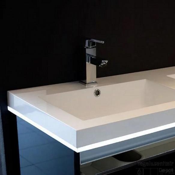 Badmeubelverlichting Sanilux Ambiance LED Met Bewegingssensor 100 cm