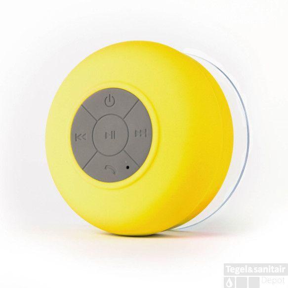 Boss & Wessing Bluetooth Speaker Geel