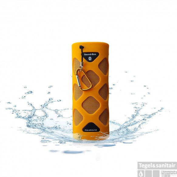 Bluetooth Sound-Box Aquasound Waterproof (IPX5) + USB oplaadkabel Oranje