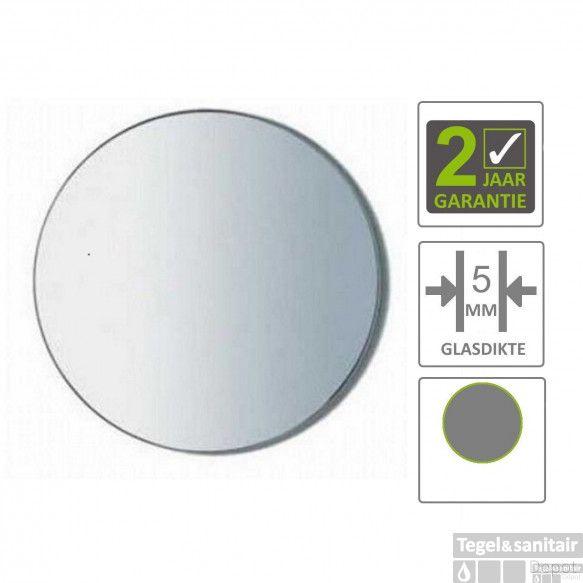 BWS Spiegel Universal 30 cm Rond 5mm Aluminium
