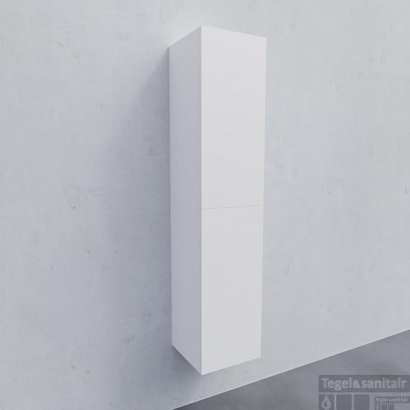 Kolomkast BWS Warschau 160x35x35cm MDF Omkeerbaar Mat Wit