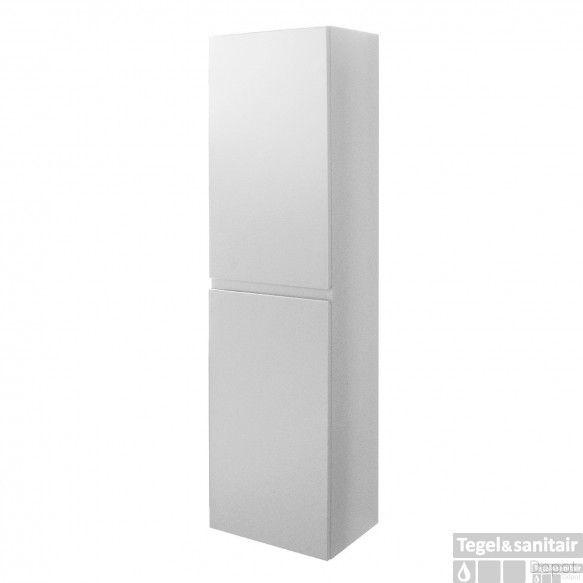 Kolomkast Go By Van Marcke Joelle 160x35x30cm Omkeerbaar Greeploos Wit