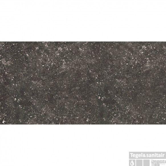 Vloertegel Mykonos Liege Black 60x120 cm (doosinhoud 1.44m2)