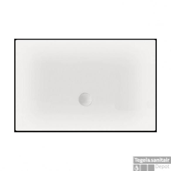 Luxe zelfdragende douchevloer Flat 120 x 90 x 3,5 cm