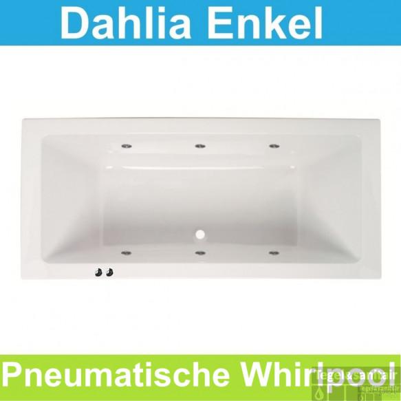 Whirlpool Pneumatisch Boss & Wessing Dahlia 180x80 cm Enkel Systeem