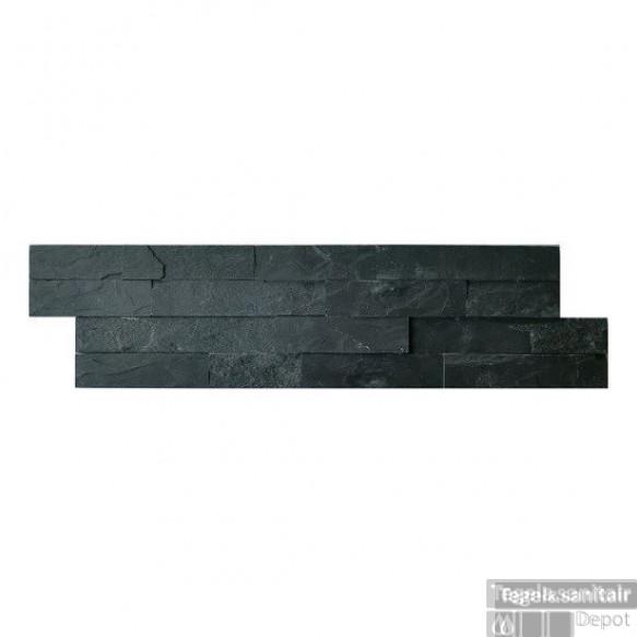 Wandtegel J-Stone Stonepanel Antraciet 15x60x2/3 (p/Stuk)