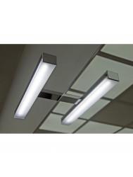 Spiegel Verlichting Alba LED 28 cm Chroom