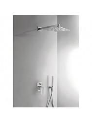 Cuadro Tres Inbouw doucheset met regendouche en handdouche 106980