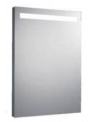 Aluminium spiegel met TL verlichting 58x80cm