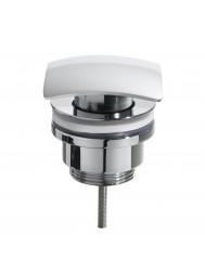 Luxe clickwaste Wiesbaden vierkant model chroom 5/4 (Afvoerpluggen)