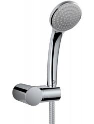 Badset Ideal Standard Idealrain met doucheslang, handdouche en handdouchehouder chroom