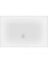 Luxe zelfdragende douchevloer Flat 100 x 80 x 3,5 cm