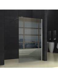 Inloopdouche Sanitop Deluxe Helder glas 100x220cm 10mm