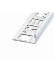 Ox Tegelprofiel Lynox Rechthoekig Mat Silver 8 mm