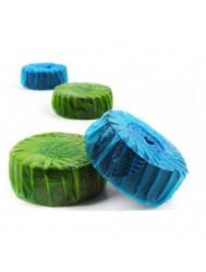 24 Geberit StarBlueDisc Toiletblokjes Groen Jaarverpakking (Verbruiksartikelen)