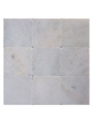 Wandtegel Natuursteen Wit marmer Anticato 10x10x1 (Doosinhoud 1 m²)