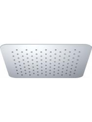 UFO Luxe hoofddouche vierkant 500mm Ultra plat chroom