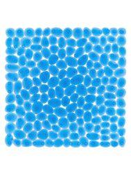 Douche Veiligheidsmat Differnz Lapis Antislip 55x55 cm PVC Blauw
