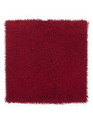 Badmat Differnz Priori Antislip 60x60 cm Katoen Rood
