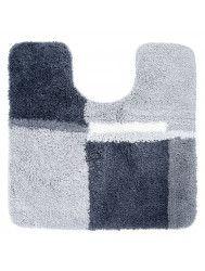 Toiletmat Differnz Cubes Antislip 60x60 cm Nylon Grijs