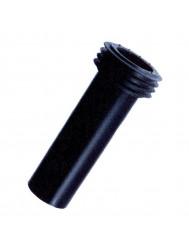 PE aansluitbuis 55mm L = 300mm (Toilet onderdelen) Lijntekening