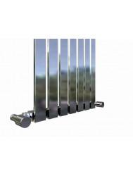Designradiator Idella 120 x 36 cm Chroom