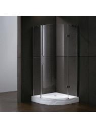 Douchecabine Sanilux Sharon Kwartrond 1 deur 90x90cm 6mm