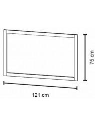 Bruynzeel  Spiegel 120 X 75 Cm. Bxh Zand-grijs