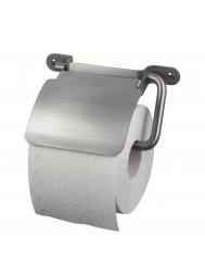 Toiletrolhouder Haceka Ixi met Klep RVS Look