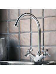 Hotbath Amice keukenmengkraan Chroom A040CR