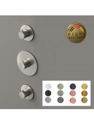 Douchekraan Hotbath Cobber Inbouw Thermostaat 2 Stopkranen (12 Kleuren)