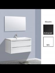 Badkamermeubelset Sanilux Senza Trend 100 cm (in 2 kleuren leverbaar)