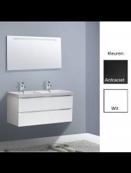 Badkamermeubelset Sanilux Senza Trend 120 cm (in 2 kleuren leverbaar)