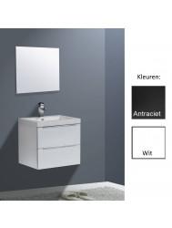 Badkamermeubelset Sanilux Senza Trend 60 cm (in 2 kleuren leverbaar)