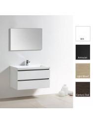 Badkamermeubelset Sanilux Trend Senza 100 cm (in 4 kleuren leverbaar)