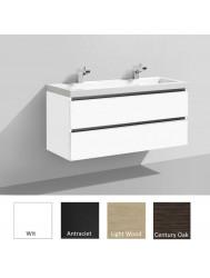 Badkamermeubelset Sanilux Trend Senza 120 cm (in 4 kleuren leverbaar)