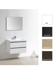 Badkamermeubelset Sanilux Trend Senza 80 cm (in 4 kleuren verkrijgbaar)