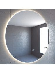 Badkamerspiegel Boss & Wessing Rond 120 cm Deluxe 2.0 LED Verlichting Warm White