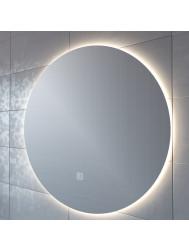 Badkamerspiegel Boss & Wessing Rond 100 cm LED Verlichting Warm White