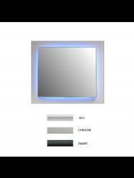 Badkamerspiegel Sanicare Q-Mirrors Ambiance LED-verlichting Rondom Met Afstandsbediening (alle kleuren, alle maten)