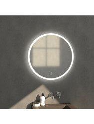 Badkamerspiegel Rond LED Verlichting Rondom Sanitop Edge Ø70 cm