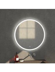Badkamerspiegel Rond LED Verlichting Rondom Sanitop Edge Ø80 cm