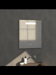 Badkamerspiegel met LED Verlichting Sanitop Light 75x70 cm